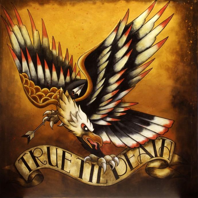 True Til Death Ltd Ed Print