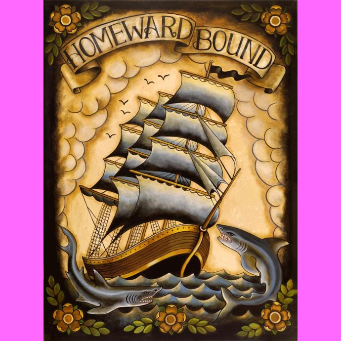 Homeward Bound Ltd Ed Print