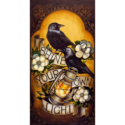 Shine Your Own Light Ltd Ed Print