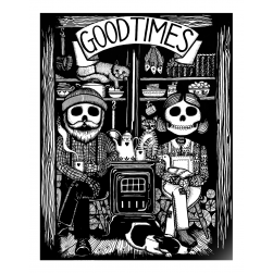 Good Times screen print